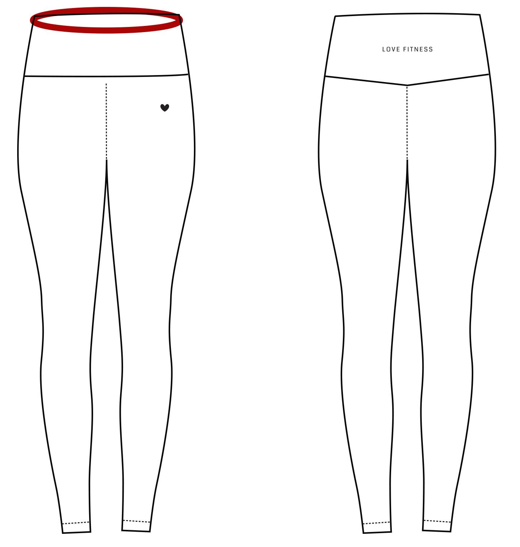 White Pineapple Leggings – Love Fitness Apparel